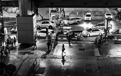 Siam Silhouette (TigerPal) Tags: bangkok thailand siam siamsquareone thai shadow evening dark availablelight silhouette silhouettephotography street asia asian walker walking sidewalk crowd