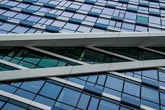 IMG_0424 (chemist72 (Pascal Teschner)) Tags: architecture modern amsterdam zuidas station building monochrome canon7dii wideangle lines geometric skylight symmetry sky skyscraper window