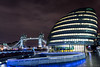 More London (Daniel Coyle) Tags: morelondon london longexposure londonnight londonskyline towerbridge thames river riverthames cityhall thescoop nikon nikond7100 d7100 danielcoyle uk england night nightphotography nightshot nightonearth reflections water bridge architecture
