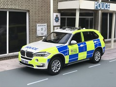 1/43 Code 3 BMW X5 Essex Police Roads Policing Unit (Mike's Code 3 Models) Tags: 143 code 3 bmw x5 essex police roads policing unit code3 rpu traffic patrol black rat paragon diecast conversion