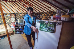 42059-012: Energy Conservation and Emissions Reduction from Poor Household in Mongolia (Asian Development Bank) Tags: mongolia mng ulaanbaatar 42059 42059012 mongolian woman ger yurt tent home house housing socialprotection