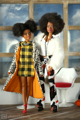 the fashion sisters (photos4dreams) Tags: littlemisslizzyp4d barbie mattel doll toy diorama photos4dreams p4d photos4dreamz barbies girl play fashion fashionistas outfit kleider mode puppenstube tabletopphotography aa beauties beautiful girls women ladies damen weiblich female funky afroamerican afro schnitt hair haare afrolook darkskin africanamerican lizzy