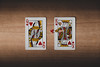 - MY HEARTH IS YOURS - (Ruben Lopo) Tags: love art cards deck king queen red hearth fujifilm fujilove fuji xt1 1855 wood paper rubenlopo v day valentines portugal girlfriend wife husband marriage