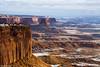 Mesas Outside Moab (isaac.borrego) Tags: snow desert moab utah canonrebelt4i canyonlands nationalpark