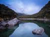 Being Among Giants (Alfredo Esing) Tags: sunset dusk clouds mist fog mountians giants new zealand newzealand lake mackenzie lakemackenzie hike hiking walk routburntrack routburn omd em5ii 1250mm