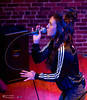 Amy Shark @ Columbia City Theater (Kirk Stauffer) Tags: kirk stauffer photographer nikon d5 adorable amazing attractive awesome beautiful beauty charming cute darling fabulous feminine glamour glamorous goddess gorgeous lovable lovely perfect petite precious pretty siren stunning sweet wonderful young female girl lady woman women live music tour concert show stage gig song sing singer vocals vocalist perform performing musician band lights lighting indie long brown hair brunette red lips blue eyes white teeth model tall fashion style leather jacket portrait photo smile smiling