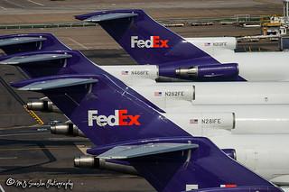 N281FE FedEx | Boeing 727-233(A)(F) | Memphis International Airport