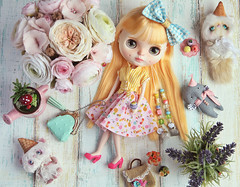 Hello Spring! (.Iuliania.) Tags: blythe customblythe custom cousinolivia