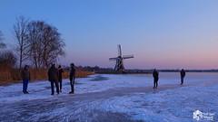 Winter in Holland (nsiepelbakker) Tags: winter outdoor landscape zuiko12100mm omdem1markii sundown ice