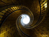 Triple escalera (kanjungla) Tags: kanjungla escalera caracol triple hueco escalones