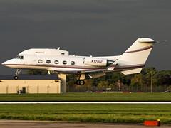 L3 Communications Flight Capital LLC | Grumman G-1159B Gulfstream II-B | N779LC (Bradley at EGSH) Tags: l3communicationsflightcapitalllc grummangulfstream grummang1159b gulfstreamiib n779lc military gulfstream g2 bizjet mildenhall rafmildenhall egun mhz usaf canon70d aviation