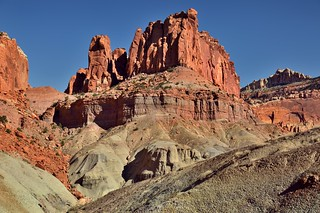 Rising Above the Surrounding Landscape (Capitol Reef National Park)
