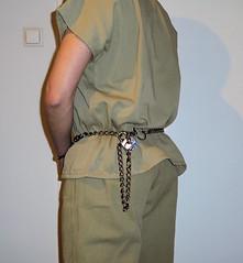 S&W m-1800 belly chain (rainerzufall1234) Tags: handcuffs handcuffed prisoner restraints shackles chains uniform inmate jail prison arrested arrest