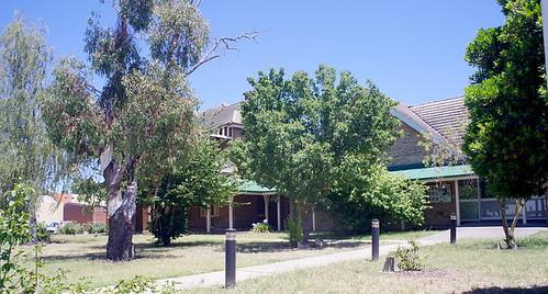 police station in Goulburn, NSW, Australi