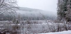 Lake (rich trinter photos) Tags: mountrainier winter randle washington unitedstates us landscape lake alpine water storm snow trinterphotos clouds skatecreekroad