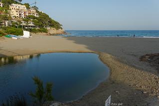 Mallorca - Canyamel - fresh water meets salt water
