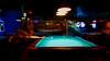 Whimsy: Lynn challenges the pool shark (boriches) Tags: billiards shark pool