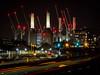 #1 - Battersea Power Station (Richard Forward) Tags: lights london battersea powerstation night train longexposure