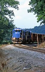 Ohio Central near Pearl (craigsanders429) Tags: conraillocomotives ohiocentralrailroad ohiocentralsystem ohiocentrallocomotives ohiocentralfreighttrains pearlohio b237r