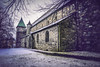 43/365: St. Svithun/Swithun Cathedral (Liv Annette) Tags: church cathedral snow winter old building view norway norge stavanger history canon sigma visitstavanger 365 project365 photography travel tourism
