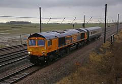 ECS (DieselDude321) Tags: 66724 class 66 gbrf drax power station 5z47 0910 polmadie car md burtonontrent wetmore sidings overton north york