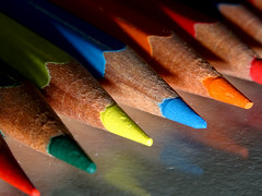 Pencils (Oscar-Z4Design) Tags: lápices color colores pencils macro colour art diseño creative