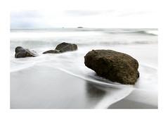 Beached (lawm1) Tags: beached beach back tasman sea water rocks rock newplymouth taranaki northisland moody longexposure seascape canon marklaw photography lawm1