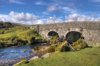 The Lower Cherrybrook Bridge, Dartmoor