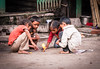Playing with fire (j0hnnyg) Tags: india children playing fire