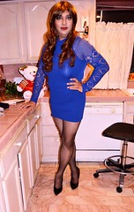 Outfit for a Friday night (Veronica Mendes (2013)) Tags: cd crossdresser crossdressing tv transvestite travesti tgirl tg transgender androgenous androgeny