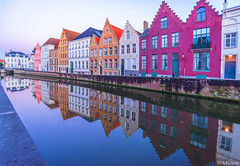 La palette de couleurs, Bruges (musette thierry) Tags: vert rouge red jaune blanc paysage landscape panorama bruges musette thierry d800 nikon reflex color février february flandre flandreoccidentale belgique belgium brugge 1835mm maison architecture