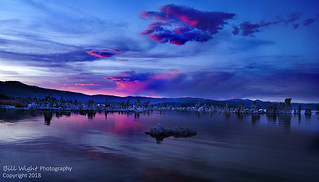 Mono Lake Lee Vining Tufa Sunset