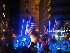 P1052519 (Yury. Syaskov) Tags: malaga andalucia andalusia spain epifania holiday fiesta magos reyes reyesmagos gifts carnaval