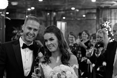 Helen and Jack (Johnnic1) Tags: mediacity onthe7th johnnic1 blackandwhite weddingphotography wedding manchester