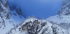 Val de Mesdi winter panorama N°4 - narrowest version (Bernhard_Thum) Tags: bernhardthum thum hasselblad h6d100c hc4210ii nature alps kolfuschg calfosch dolomiti dolomiten dolomites elitephotography capturenature landscapesdreams