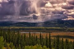 Thunderstorm (Philip Kuntz) Tags: thunderstorm storm weather rays sunrays rain tetlinnationalwildliferefuge alcanhighway alaska