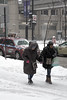 Hand in hand (dharder9475) Tags: 2018 candid helping holdinghands privpublic snow stranger streetphotography twopeople walking windy winter