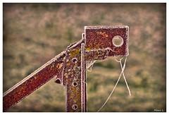 La goutte au nez (Marc Lacampagne) Tags: canon tamron dslr hdr rouille rust rusty old dof 28 closeup