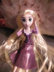 Rapunzel (dimmnogal) Tags: rapunzel disney hair long blonde girl hasbro doll