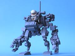 Midi-Scale Exo Suit (Legoloverman) Tags: lego space exosuit robot walker spaceman ncs groundcrew loader