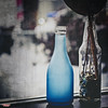 Winter Weather Blues (MBates Foto) Tags: ambientlight availablelight bottles color daylight existinglight glass indoors nikkorlens nikon nikond810 subdued textures window spokane washington unitedstates 99203