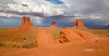 Monument Valley Distant Storm (Lerro Photography) Tags: monumentvalley desert desertsand desolate navajo navajonation americansouthwest southwest