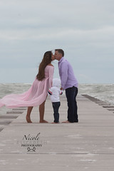 Feldman Maternity 2018 (Nicole Elizabeth Photography) Tags: maternity pink gown wind beautiful beach sand longboat