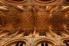 The chancel vault in Christ Church Cathedral (pierre_et_nelly) Tags: chancelvault christchurchcathedral christchurchcollege vault ceiling cathedral pendantvault liernevault