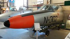 Hawker Hunter T.7 c/n 41H/694510 Netherlands Air Force serial N-302 (sirgunho) Tags: united kingdom england preserved stored aircraft raf royal air force navy rn aac hawker hunter t7 cn 41h694510 netherlands serial n302