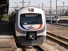 A Turkish Railways E23000 class EMU, Ankara Gar (Steve Hobson) Tags: turkish railways tcdd ankara gar e23000 hyundai rotem emu banliyo