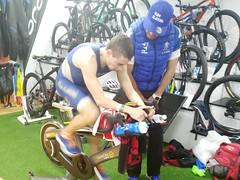 Rubén Pereira triatlón Indoor team clavería triatlón World 1