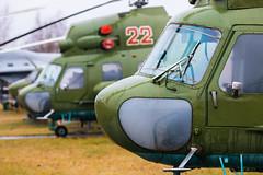 Mi-2 Hoplites (Sam Wise) Tags: mil mi2 hoplites riga aviation museum aviamuseum latvia latvian