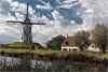Qamme.  DSC_2704 (leonhucorne) Tags: paysage landscape damme canal flandres belgique nikon d750 fullframe