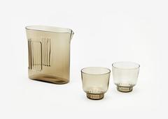 RidgeKitchen-set-smoke-silo-VRK (Charles & Marie) Tags: glasses areaware glassware ridgekitchen carafe visibility pitcher